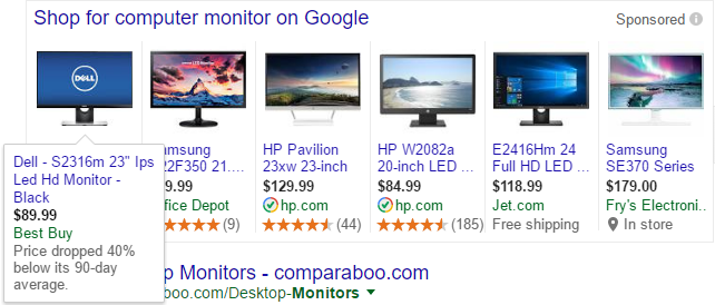 Dell Monitor Price Drop - Expanded
