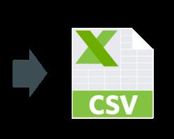 Export GTIN to CSV