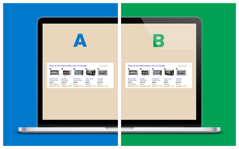 How to A/B Test Different Titles for Google Shopping