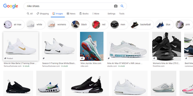 Google Shopping Expands to Image Search