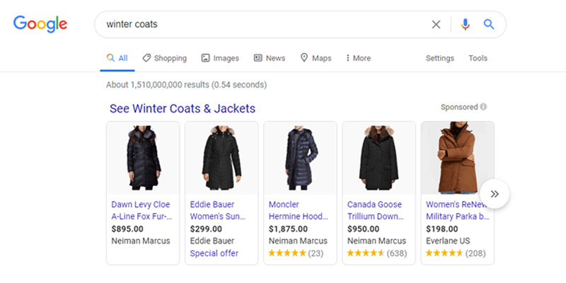 Major Google Shopping Update for Broad Keywords