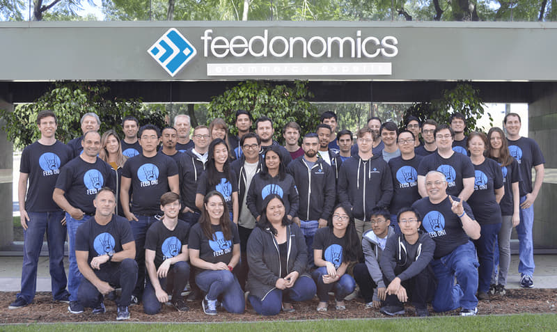 Google shopping feed management team - Feedonomics employees
