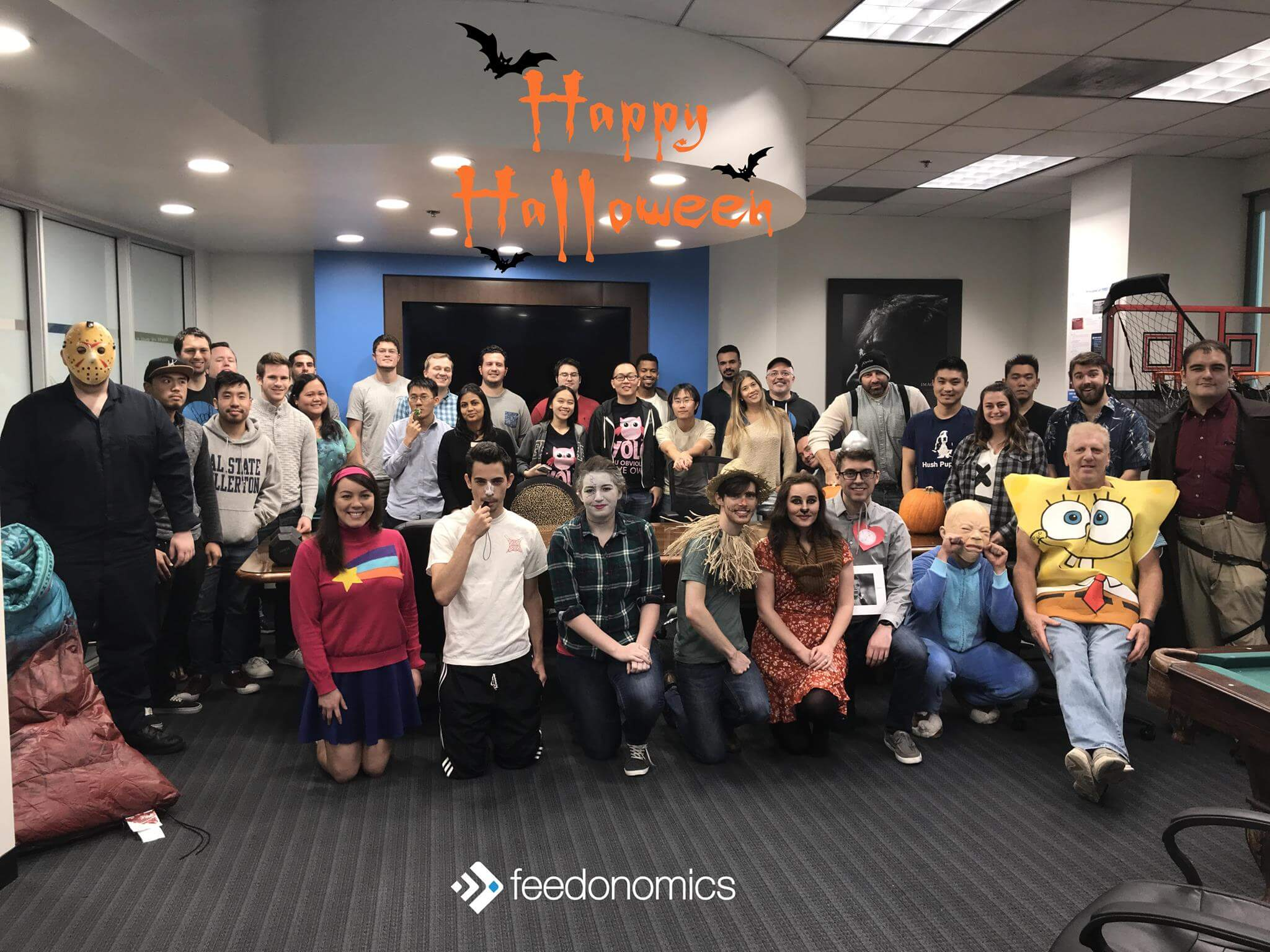 Company halloween  dress-up