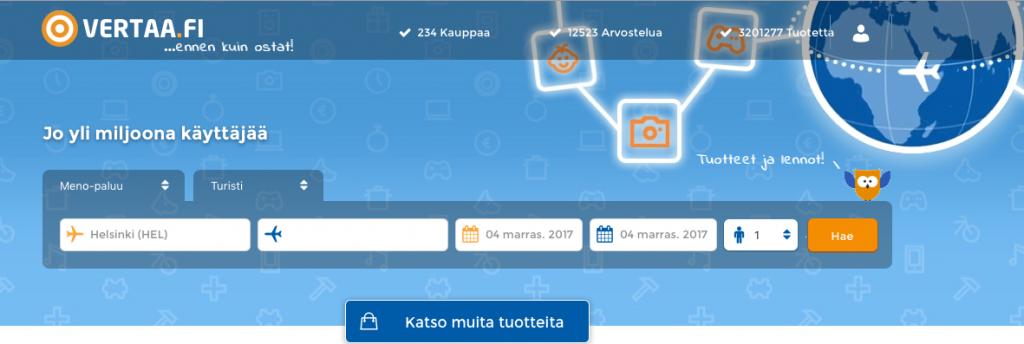 Vertaa Finland