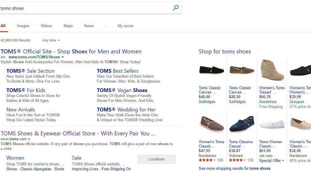 Bing Shopping Expands to Canada and India