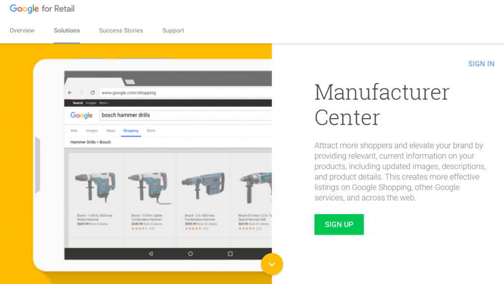 google_manufacturer_center