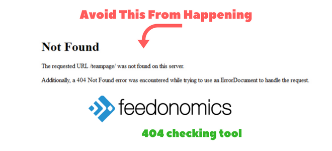 404 broken link checker for Adwords