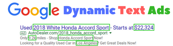 google dynamic text ads