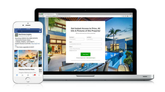real estate re marketing ads facebook