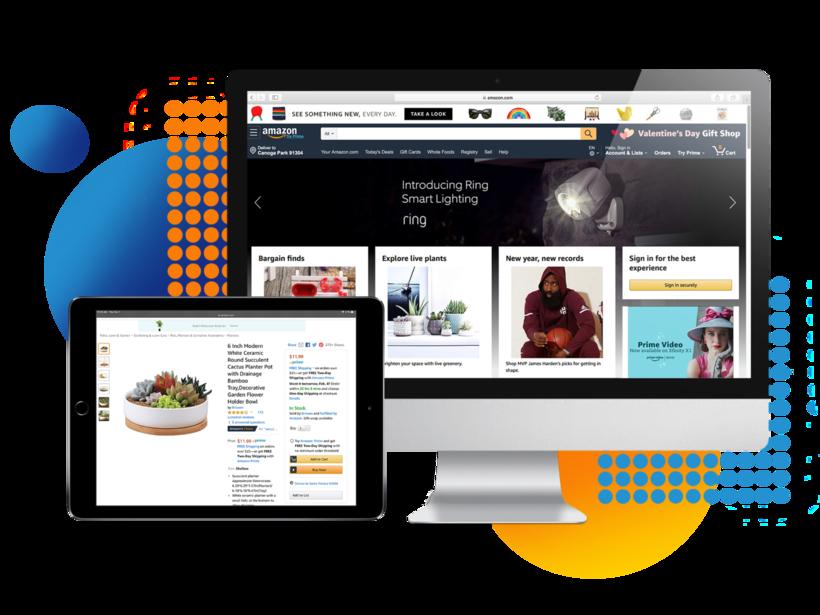 Enhanced Amazon product listings
