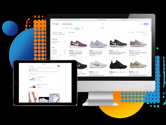 Google shopping feed listing