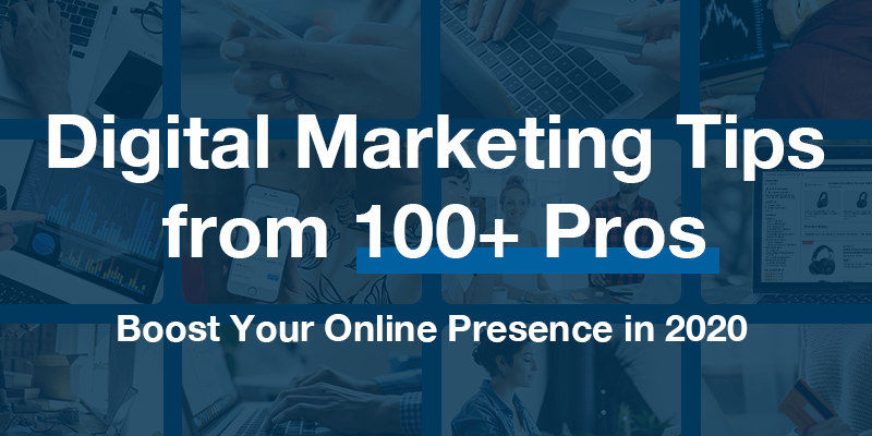 Announcing Digital Marketing Tips from 100+ Pros