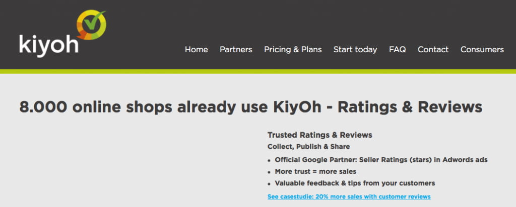 KiyOh homepage