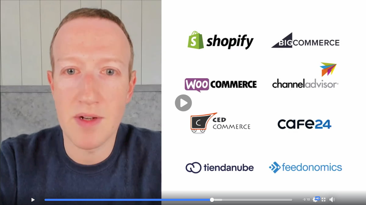 Mark Zuckerberg partners with Feedonomics