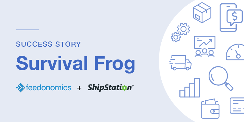 How Feedonomics and ShipStation Helped Survival Frog Reduce Costs and Recover Profits