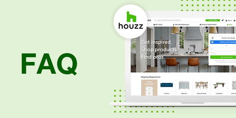 Houzz Seller FAQs to Get You Started