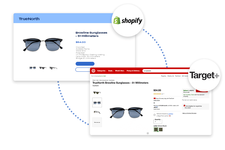 Shopify to Target Plus integration
