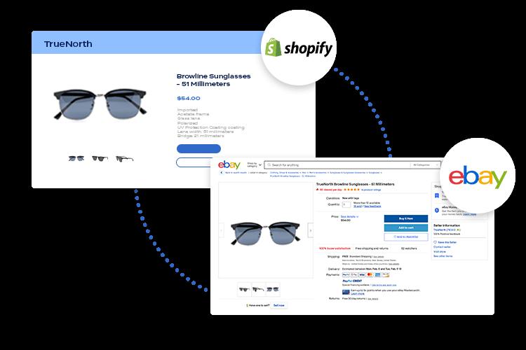 Shopify to eBay sync