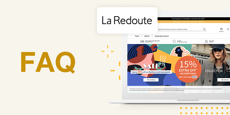 La Redoute Marketplace FAQs for Sellers