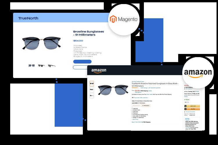 Magento to Amazon integration