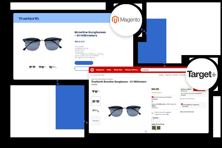 Magento to Target Plus integration