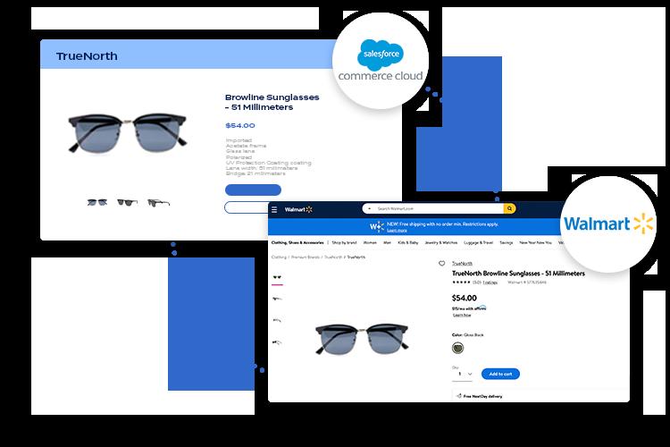 Salesforce to Walmart integration